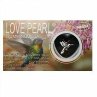 "Humming Bird Love Wish Pearl Necklace Kit Set Culture Pearl 16"" Necklace"