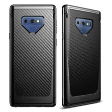 For Samsung Galaxy Note 9 Slim Carbon Fiber Texture Soft TPU Rubber Case Cover