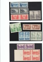 Scott # 756-765 National Parks imperf pairs - MNH - NGAI - SCV $50.00