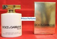 D&G DOLCE E GABBANA THE ONE  PERFUMED BODY LOTION - 200 ml