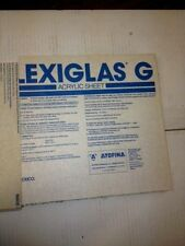 "Acrylic Plexiglas G P95 Matte Finish Sheet .220"" Thick x 11.875"" x 11.875"" Clear"