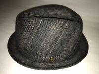 Goorin Bros Men's Charcoal Luigi Giovonni Wool Sz Medium Fedora $175 NWT GB9