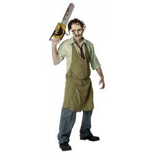Leatherface Horror Costume Texas Chainsaw Massacre Halloween Fancy Dress