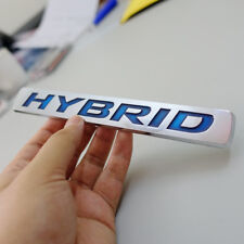 Hybrid Sticker Auto Car 3D Logo ABS Emblem Badge Universal Decal Brand Premium