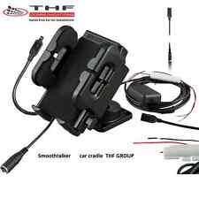 Universal  car cradle inc external antenna connection -Smoothtalker   car kit