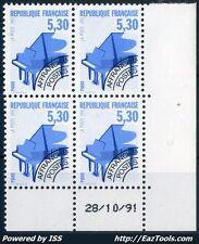 FRANCE PREO N° 222 COIN DATE 28/10/1991 NEUF ** SANS CHARNIÈRE