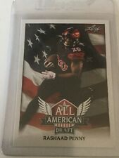 Rashaad Penny 2018 Leaf Draft All-American Rookie Card (#AA-11)