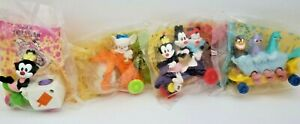 Vintage 1993 McDonalds Happy Meal Animaniacs Toys Lot Pinky Bicycle Goodfeathers