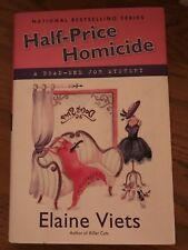 Dead-End Job Mystery: Half-Price Homicide 9 by Elaine Viets (2010, Hardcover)