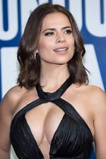 HALEY ATWELL ~ BOOBS ~ SEXY DRESS ~ A4 SIZE GLOSSY PHOTO.