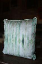 Green Velvet Patterned Velvet cushions made by TallBoy Interiors, home decor