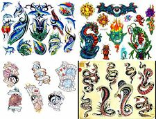 OVER 20,000 MIXED TATTOO FLASH IMAGES ON 3 DVDS FREEPOST