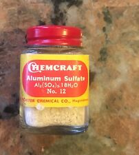 Vintage ChemCraft Aluminum Sulfate 1950S Chemical Toy Set 2""