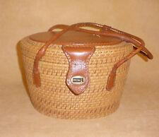 Vintage Nantucket Basket Purse Needs Repair & Restoration - Jana Hong Kong