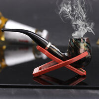 Retro personalized Handmade Colour Wooden Tobacco Smoking Pipe A special gift