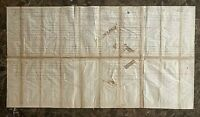 ORIGINAL CIVIL WAR 14th WISCONSIN VOL INF FIELD + STAFF MUSTER OUT ROLL 1861-65