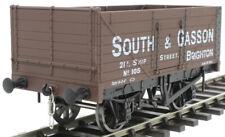 GAUGEMASTER 7410201 7 PLANK WAGON SOUTH & GASSON 105 BRIGHTON - 0 GAUGE, NEW!