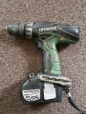 Hitachi DV18DVC 18-Volt Li-Ion Cordless Hammer Drill Driver and 3.0Ah Battery