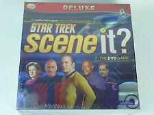 Star Trek Deluxe Scene It - New & Sealed - Interactive DVD Trivia Game Age 13+