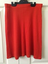 Brave by Wayne Cooper Skirt - size 2 (fits like an 8), orange, corporate, office