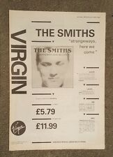 The Smiths strangeways  1987 press advert Full page 30 x 42 cm mini poster