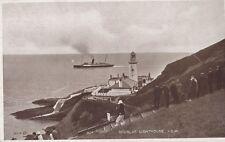 DOUGLAS ( Isle of Man) : Douglas lighthouse-VALENTINES-'British Goods are Best'