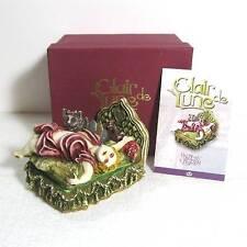 """CLAIR DE LUNE """"Justine & Cat"""" Harmony Kingdom resin figurine w box"""