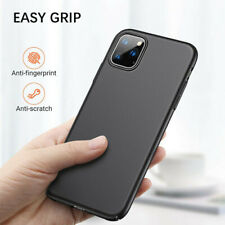 Case For iPhone SE 2 11 Pro XR XS MAX X 8 7 Plus Shockproof Silicone Black Cover