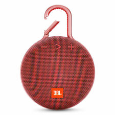 JBL Clip 3 Portable Bluetooth Speaker - Fiesta Red