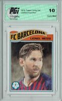 Lionel Messi 2019 Topps #1 Living Set, 3,512 Made Champions League Card PGI 10