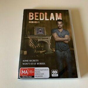 BEDLAM - TV Series 1 One Theo JAMES Charlotte SALT Hugo SPEER (2 DVD SET) R4