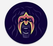 Ultimate Warrior WWF WWE Vinyl Sticker Decal