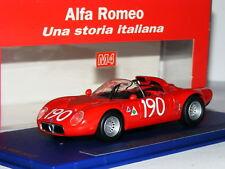 Modelli M4 ALFA ROMEO 33.2 1967 TARGA FLORIO #190 LTD ED 1/43