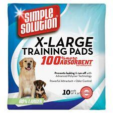 Solución simple Xl formación Pads, Paquete De 10, Cachorros, ill/housebound Perros