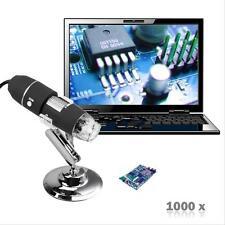 8 LAH 1000X USB support de caméra numérique Microscope Endoscope Loupe vidéo @AH