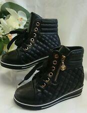 Mädchen Kinder Schuhe Halbstiefel Halbschuhe Gr. 26 High Sneakers Schwarz