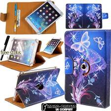 "Universal 360° Rotating Stand Wallet Leather Case Cover For Various 7"" Tablets"