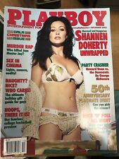 SHANNEN DOHERTY playboy KATIE FAWN teles twins LAUREN MICHELLE HILL no label
