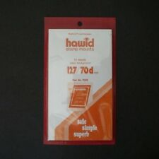Hawid Stamp Mounts Size 127/70d CLEAR Pack of 10