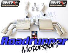 AUDI TT MK2 Tts Quattro Milltek Gato De Escape Sistema de nuevo acero no res más fuerte