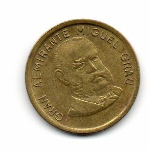 Perú 1986, Gran Almirante Miguel Grau, 20 centimos