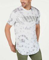 INC Mens T-Shirt Classic White Size 3XL Tie Dye Print Graphic Tee $39- #378