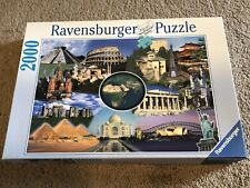 Ravensburger New Wonders Of The World 2000 Piece Jigsaw Puzzle