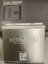 Kenwood KAC-PS200 Power Amplifier. **NEW** OLD SCHOOL