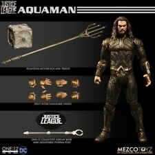Mezco One 12 Justice League Aquaman Action Figure 1:12 Scale New SEALED