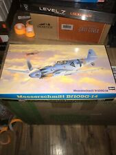 1/48 Hasegawa Messerschmitt Bf-109G-14 - Open Box - Sealed Contents - New Md97