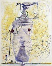 Salvador Dali, Original Engraving from Illustre Casanova suite, nude MAKE OFFER!