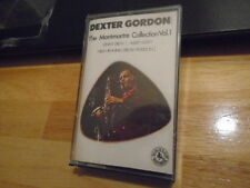 SEALED RARE OOP Dexter Gordon CASSETTE TAPE Montmartre Collection Vol 1 JAZZ '81