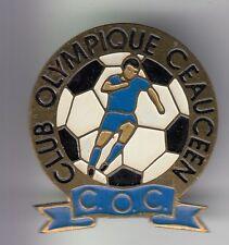 RARE PINS PIN'S .. FOOTBALL SOCCER CLUB TEAM COC CLUB OLYMPIQUE CEAUCE 61 ~DG
