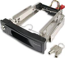 LogiLink SATA Wechselrahmen für 3 5 Festplatten schwarz